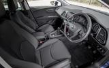 Seat Leon 5dr hatch dashboard