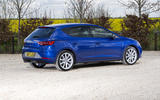 Seat Leon 5dr hatch rear quarter