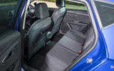 Seat Leon 5dr hatch rear seats