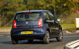 Seat Mii rear cornering