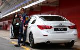 Vettel announced as Infiniti Director of Performance