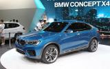 BMW Concept X4 - latest pics: Shanghai motor show 2013