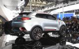 MG CS Concept SUV: Shanghai motor show 2013