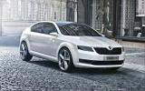 Skoda VisionD – new pictures