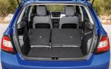 Skoda Fabia extended boot space