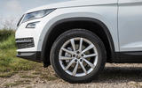 Skoda Kodiaq squared wheelarches