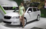 Paris motor show: electric Skoda Octavia
