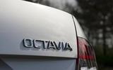 Skoda Octavia badging