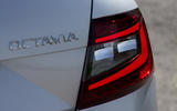 Skoda Octavia LED rear lights