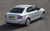 Skoda Octavia rear quarter