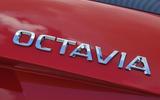 Skoda Octavia vRS 245 badging