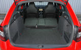 Skoda Octavia vRS 245 extended boot space