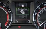 Skoda Octavia vRS 245 information display