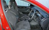 Skoda Octavia vRS 245 interior