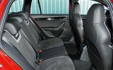 Skoda Octavia vRS 245 rear seats