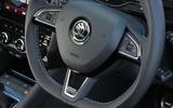 Skoda Octavia vRS 245 steering wheel