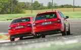 Skoda Octavia vRS rear cornering