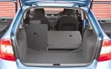 Skoda Rapid seat flexibility