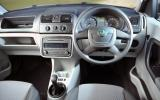 Skoda Roomster dashboard