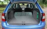 Skoda Octavia Scout extended boot space