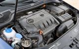 Skoda Superb diesel engine