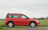 Skoda Yeti side profile