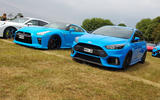 Nissan GT-R and Ford Focus RS