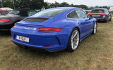 Porsche GT3 Touring rear end