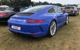 Porsche GT3 Touring rear end