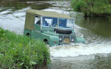 The original Land Rover was revealed to the world at the Amsterdam motor show on 30 April 1948.