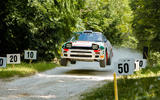 Rally stars in action