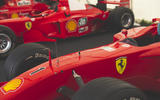 Schumacher's Ferrari stats