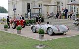 Porsche tractor & 550RS
