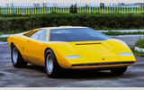Styling the Countach