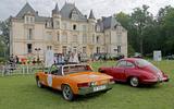 Porsche 914-6 and 356