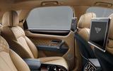 Bentley Bentayga: entertainment