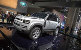 The Frankfurt motor show began on Tuesday morning.