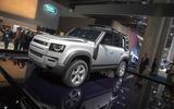 The Frankfurt motor show began on Tuesday morning.
