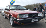 Volvo owners from all over Europe gathered at an airfield in Leicestershire on Sunday.