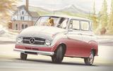 1955 MERCEDES 119 – 'A-CLASS'