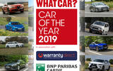 What Car? has revealed the shortlist of 61 new models in contention for its prestigious 2019 Car of the Year title.