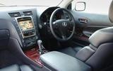 Lexus GS 450H - interior