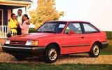 FUEL GAUGE ARROW: Ford Escort, Mercury Tracer (1989)