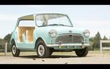 Austin Mini Beach Car