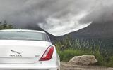 Jaguar XJ – cat claws inserts in the rear lights