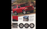 INDICATORS IN SIDE MIRRORS: Ford Bronco (1995)
