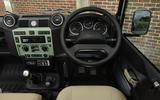 Land Rover Defender: Interior