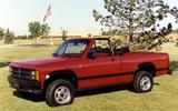 Dodge Dakota Sport Convertible (1990)