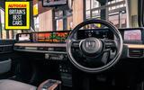 Britain's Best In-car Technology 2020: Honda E