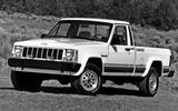 The Jeep pickup burns out (1992)